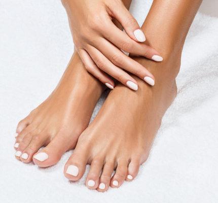 Feet that was pecidured