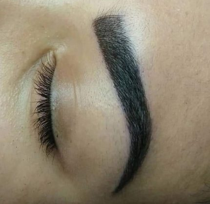 Effects after microblading