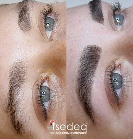 Threading pic before and after